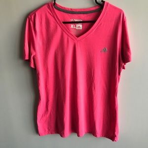 🎀 Adidas Logo XL Pink Top
